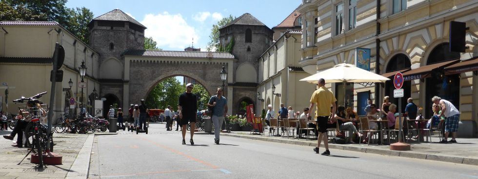 Sendlinger Straße ohne Autos am 1.7.2016