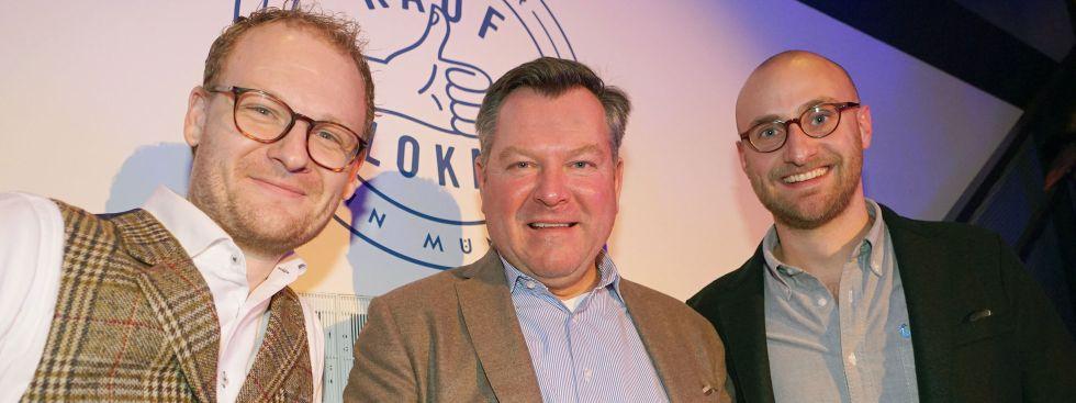 """Kickoff zur Aktion """"Kauf Lokal"""" 2017 mit Bürgermeister Josef Schmid"""