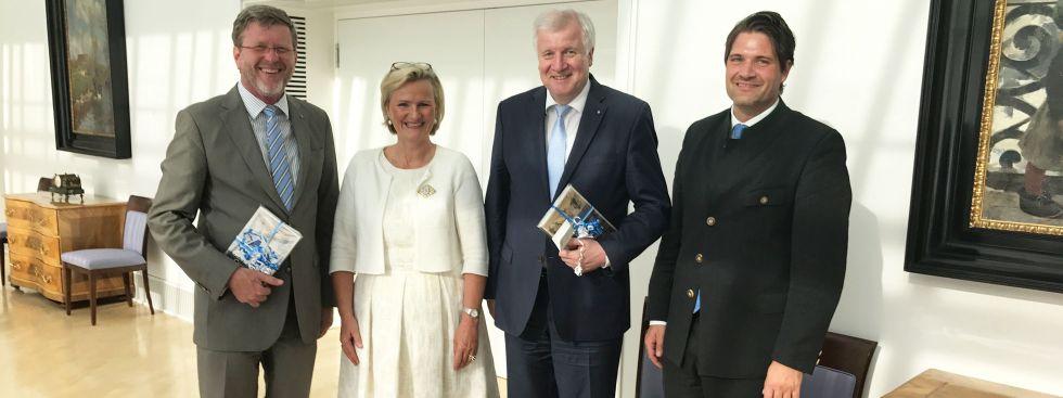 Spitzengespräch von DEHOGA mit Ministerpräsident Horst Seehofer