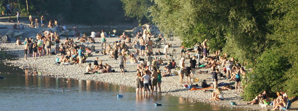 Sommer an der Isar (Flaucher)