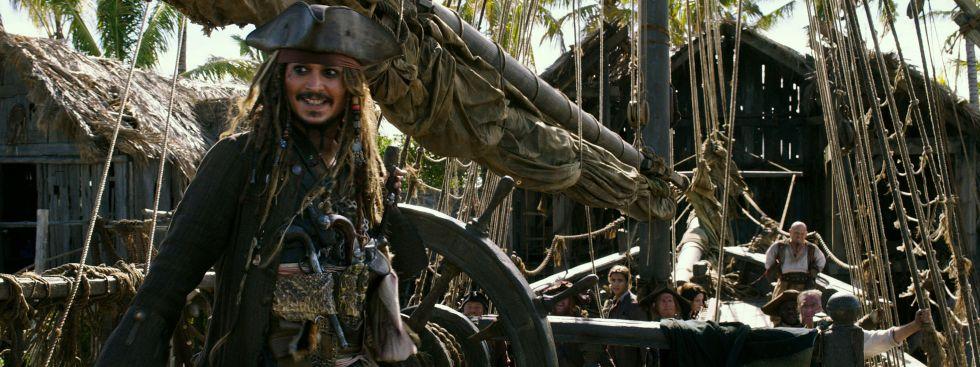 "Szene aus dem Film ""Pirates of the Caribbean: Salazars Rache""."
