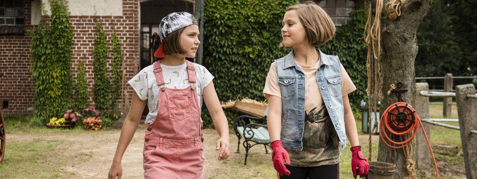 "Szene aus dem Film ""Hanni & Nanni - Mehr als beste Freunde""."