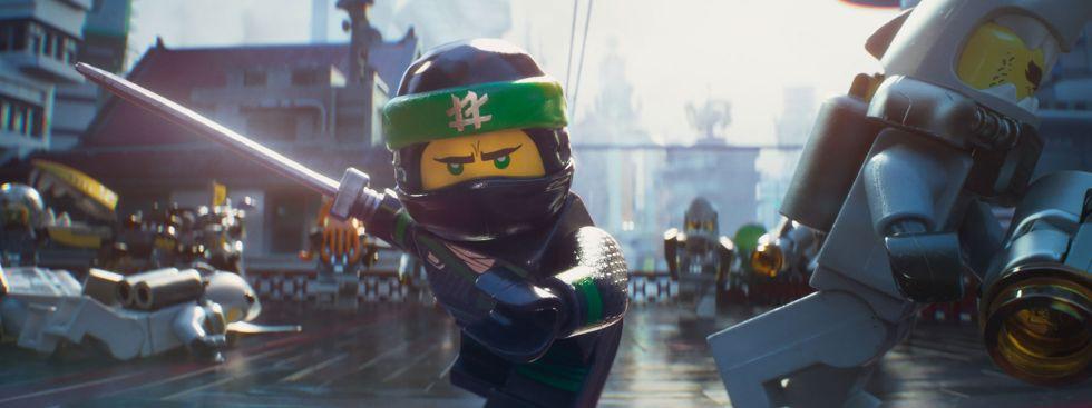 "Szene aus dem Film ""The Lego Ninjago Movie"""