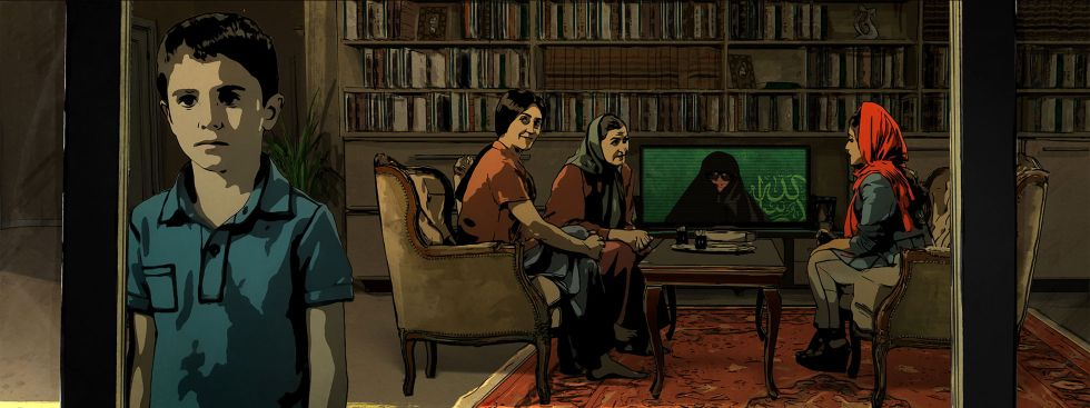 """Szene aus dem Film """"Teheran Tabu"""""""