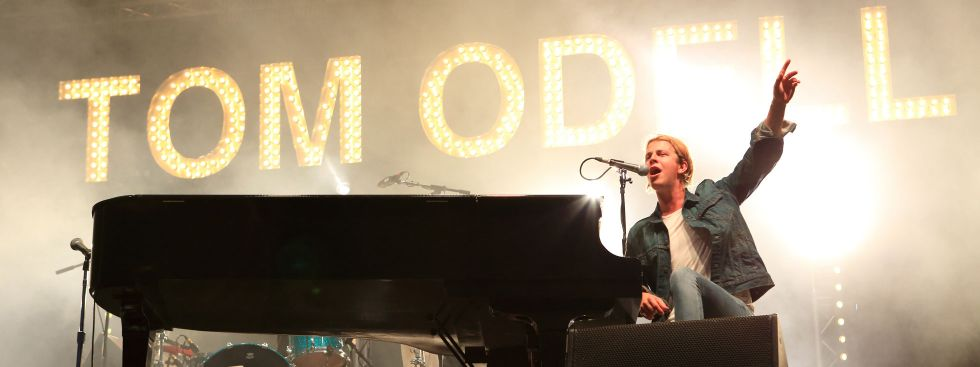 Tom Odell am Klavier