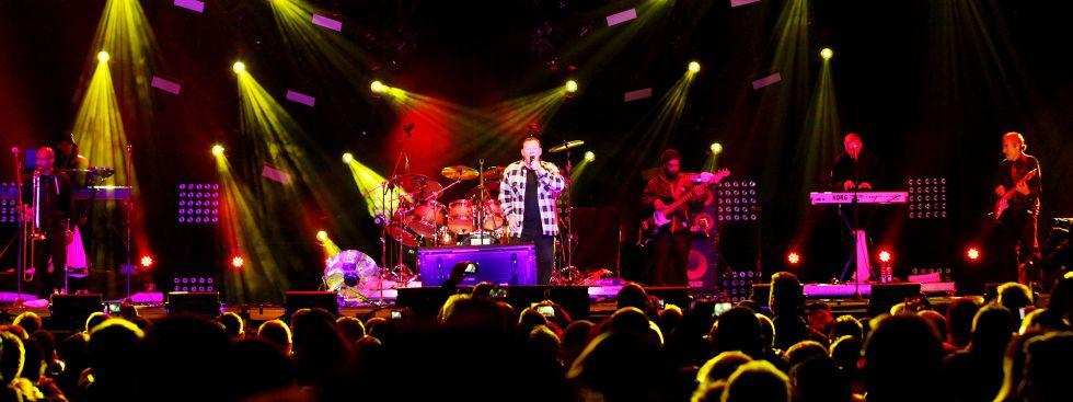 Die britische Reggae-Band UB40