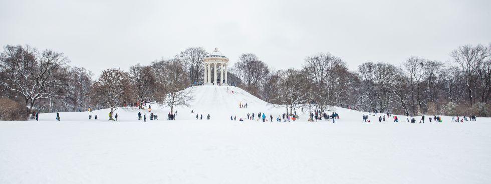 Winter in München