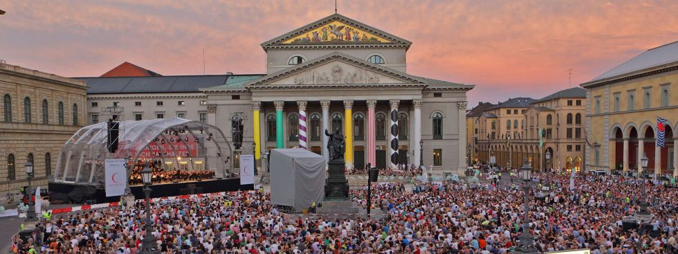 Oper für alle am Max-Joseph-Platz