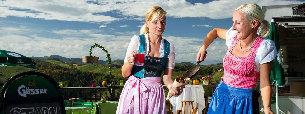 Genussmarkt Steiermark am Rindermarkt