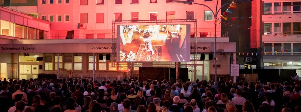 Kino Open Air am Mars Markt