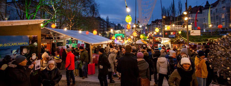 Schwabinger Weihnachtsmarkt 2017