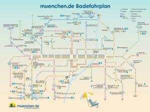 Der Badefahrplan 2017 für München, Foto: muenchen.de