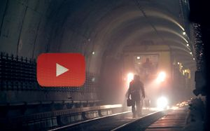 U-Bahn-Tunnel, Foto: MVG