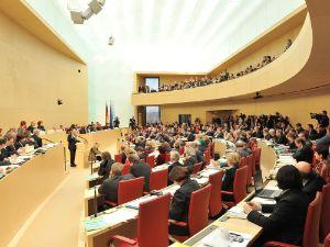 Plenarsitzung im Bayerischen Landtag, Foto: Bildarchiv Bayerischer Landtag, Rolf Poss