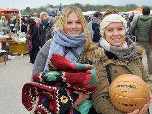 Umfrage Riesenflohmarkt Theresienwiese, Foto: muenchen.de/ Dan Vauelle