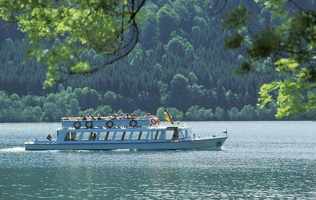 Fahrgastschiff auf dem Schliersee, Foto: Gästeinformation Schliersee