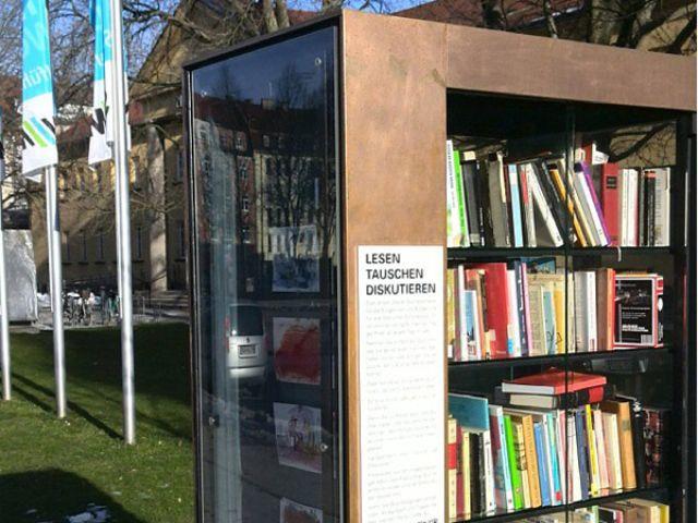 Der Bücherschrank am Nordbad