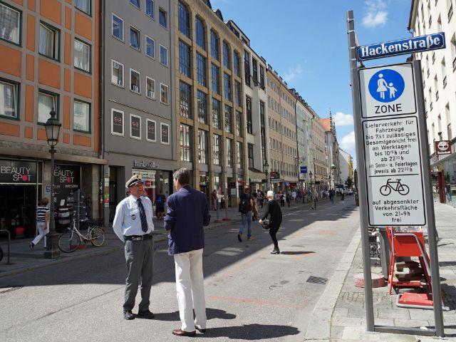Sendlinger Straße ohne Autos am 1.7.2016, Foto: muenchen.de/Vauelle