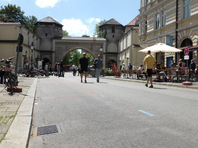 Sendlinger Straße ohne Autos am 1.7.2016, Foto: muenchen.de