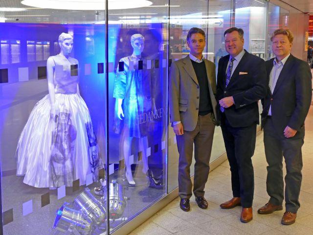 Pressekonferenz zum Münchner Modepreis mit Bürgermeister Schmid, Wofgang Fischer und Dr. Lajos Csery