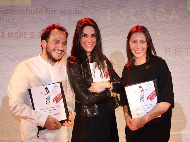 Verleihung des Modepreises 23.2.2016, Foto: Leonie Liebich