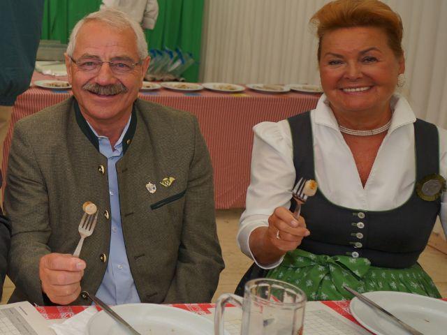 Wiesnstadtrat Otto Seidl und Ex-Wiesn-Chefin Gabriele Weishäupl