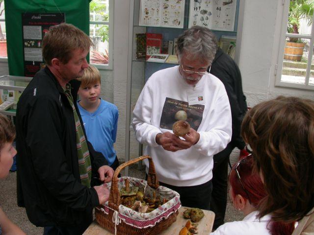 Pilzberatung beim Verein für Pilzkunde, Foto: Verein für Pilzkunde e.V.