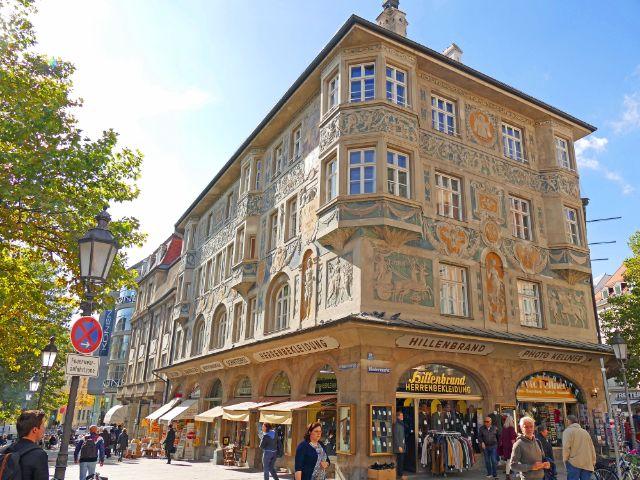 Das Ruffinihaus am Rindermarkt, Foto: muenchen.de/Leonie Liebich