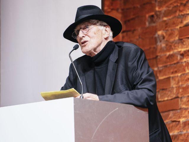 Tomi Ungerer erhielt den Ehrenpreis beim Bayerischen Buchpreis 2017, Foto: Julia Müller
