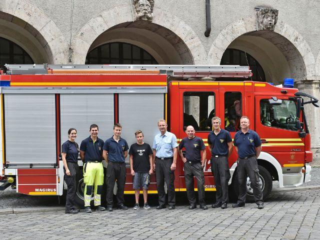 Foto der Berufsfeuerwehr München, Foto: Foto der Berufsfeuerwehr München