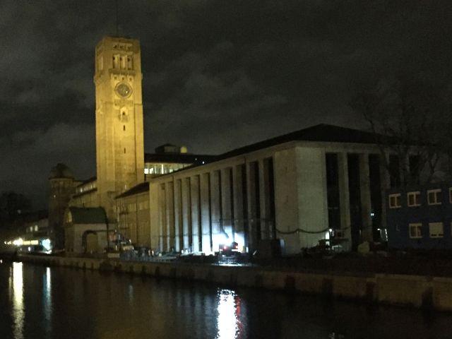 Das Deutsche Museum bei Nacht, Foto: muenchen.de/Mark Read