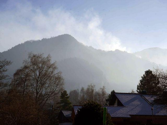 Rauchschwaden über dem Jochberg., Foto: muenchen.de/ Dan Vauelle
