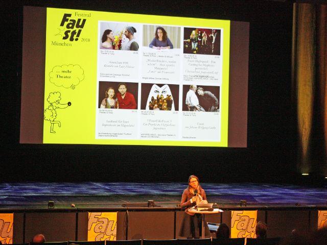 Pressekonferenz zum Faust-Festival 2018, Foto: muenchen.de/Leonie Liebich