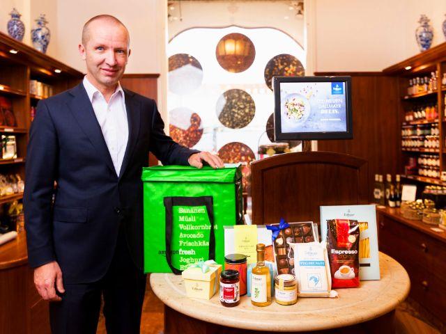 Amazon Fresh: Florian Randlkofer, Geschäftsführer von Dallmayr, Foto: Amazon