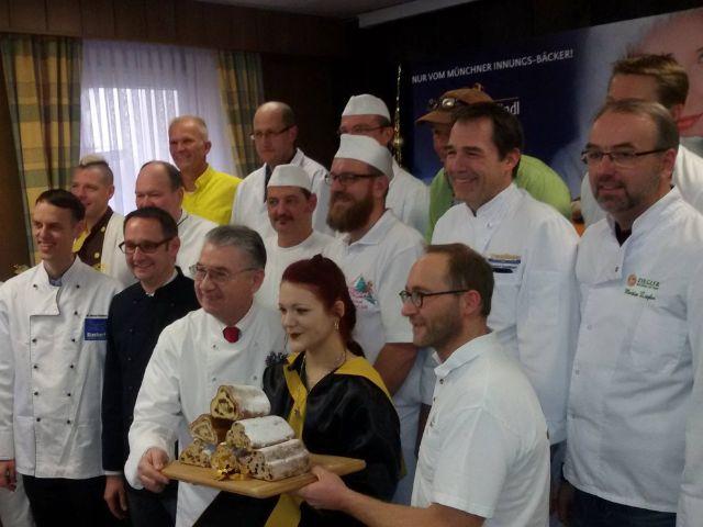 Stollenprüfung 2017, Foto: Bäcker-Innung München und Landsberg