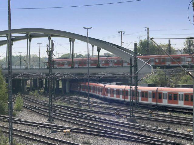 Visualisierung der Baumaßnahmen für die 2. Stammstrecke in Laim, Foto: Deutsche Bahn AG / Fritz Stoiber Productions GmbH