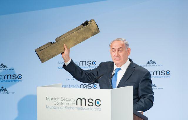 Benjamin Netanjahu auf der Münchner Sicherheitskonferenz., Foto: MSC / Preiss