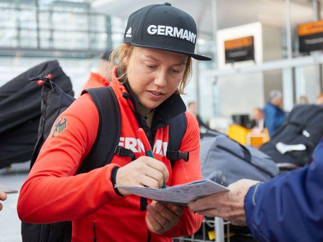 Laura Dahlmeier, Foto: Lufthansa Group