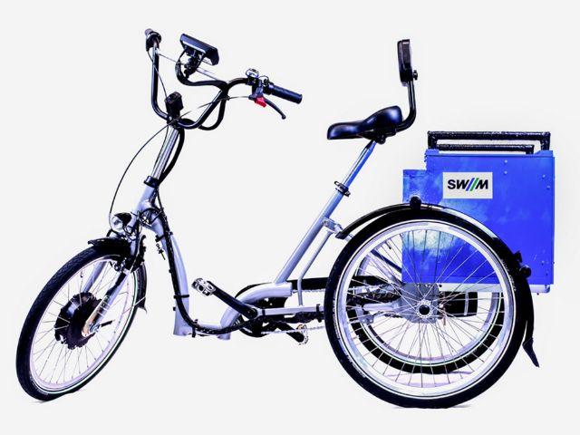 Der E-Trike Prototyp von TUM, SWM und MVG , Foto: TUM/SWM/MVG