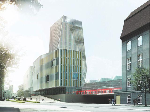 München Hbf - Starnberger Flügelbahnhof: Blick von Arnulfstr. / Seidlstr.