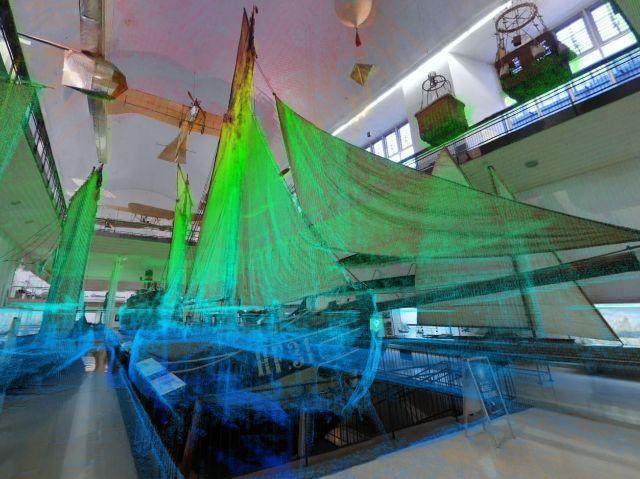 Das Deutsche Museum virtuell erkunden., Foto: NavVis