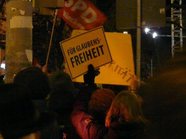 Großdemo am Sendlinger Tor gegen Bagida