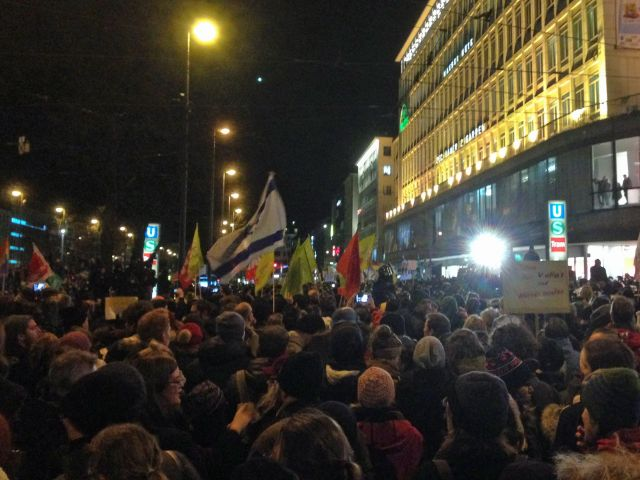 Nopegida-Demo am Stachus