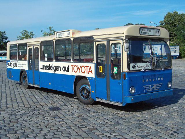 Neuer Oldtimer-Bus im MVG Museum, Foto: OCM