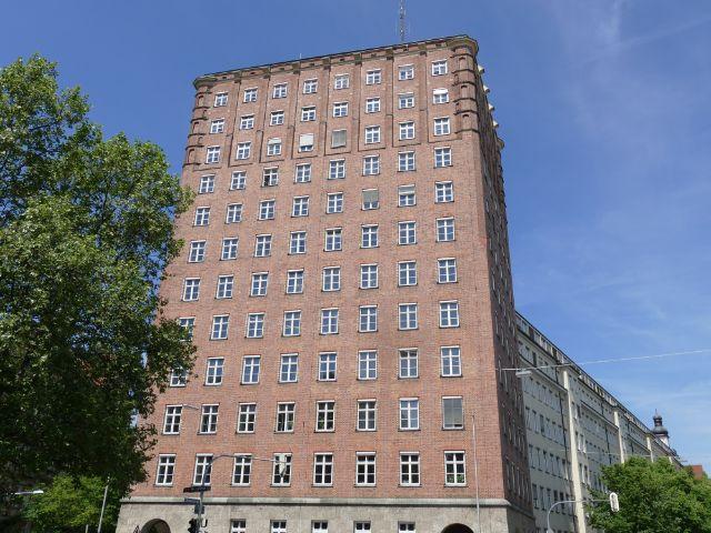 Städtisches Hochhaus an der Blumenstraße., Foto: muenchen.de/Sebastian Binder