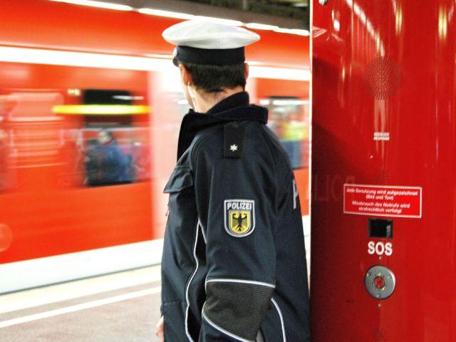 Polizeieinsatz in der S-Bahn München (Symbolbild), Foto: Bundespolizei