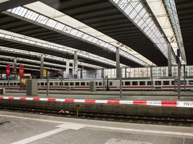gesperrter Hauptbahnhof, Foto: Immanuel Rahman