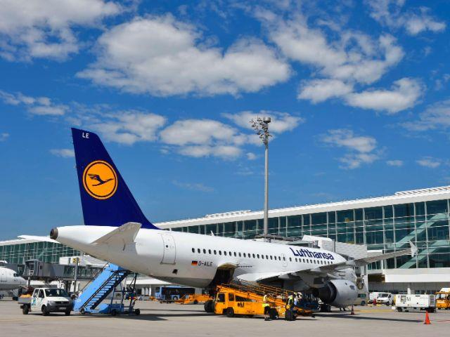 Flugzeug der Lufthansa, Foto: Flughafen München
