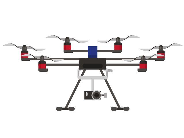 Drohne, Foto: Flughafen München