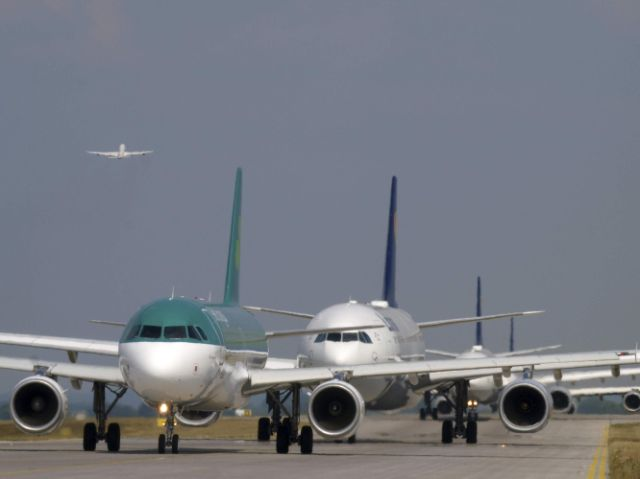 Flugzeuge am Münchner Flughafen, Foto: Flughafen München